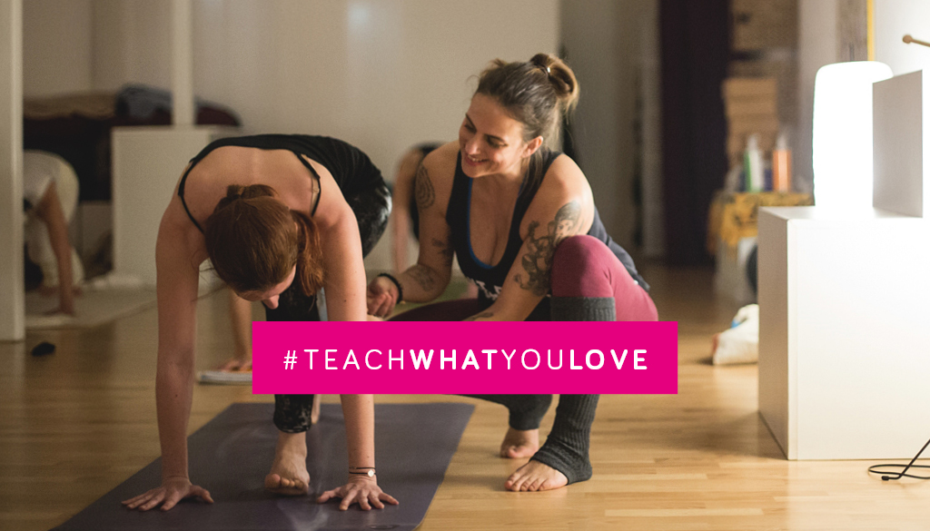#teachwhatyoulove