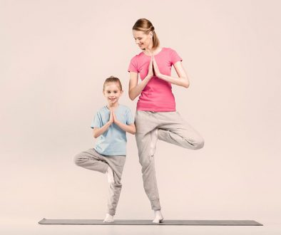 Family Yoga mit Mina