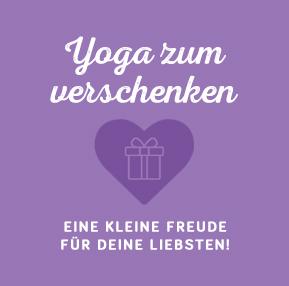 Yoga zum Verschenken – Gutscheine