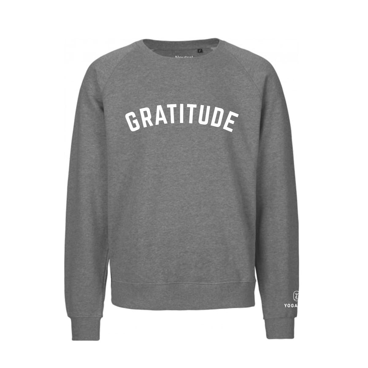 YOGALIFE Bio-Fairtrade-Sweater GRATITUDE