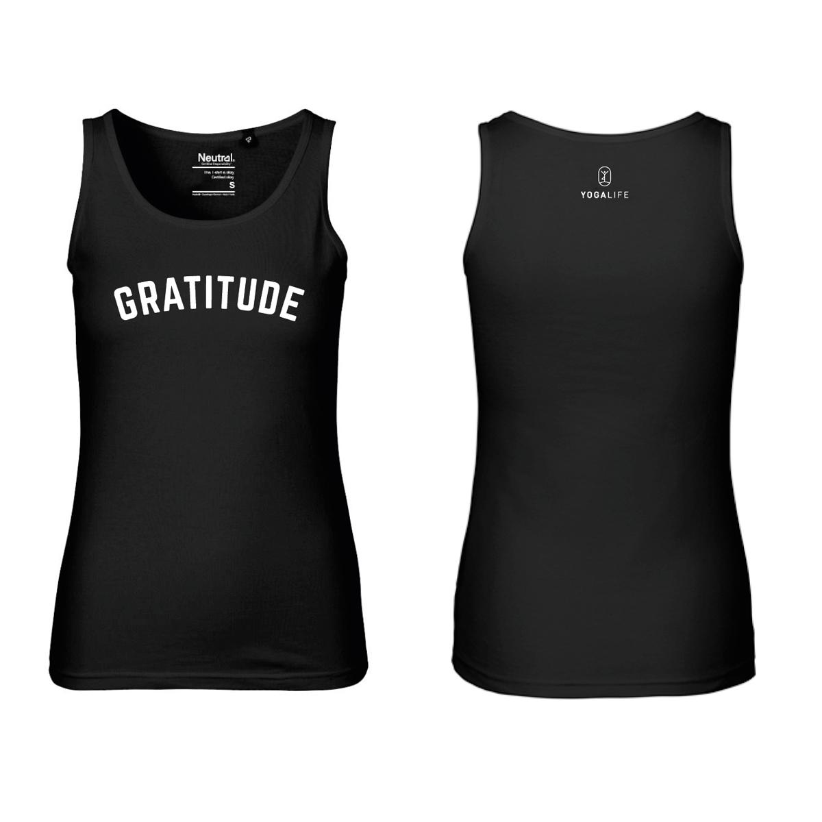 YOGALIFE Bio-Fairtrade-Top GRATITUDE